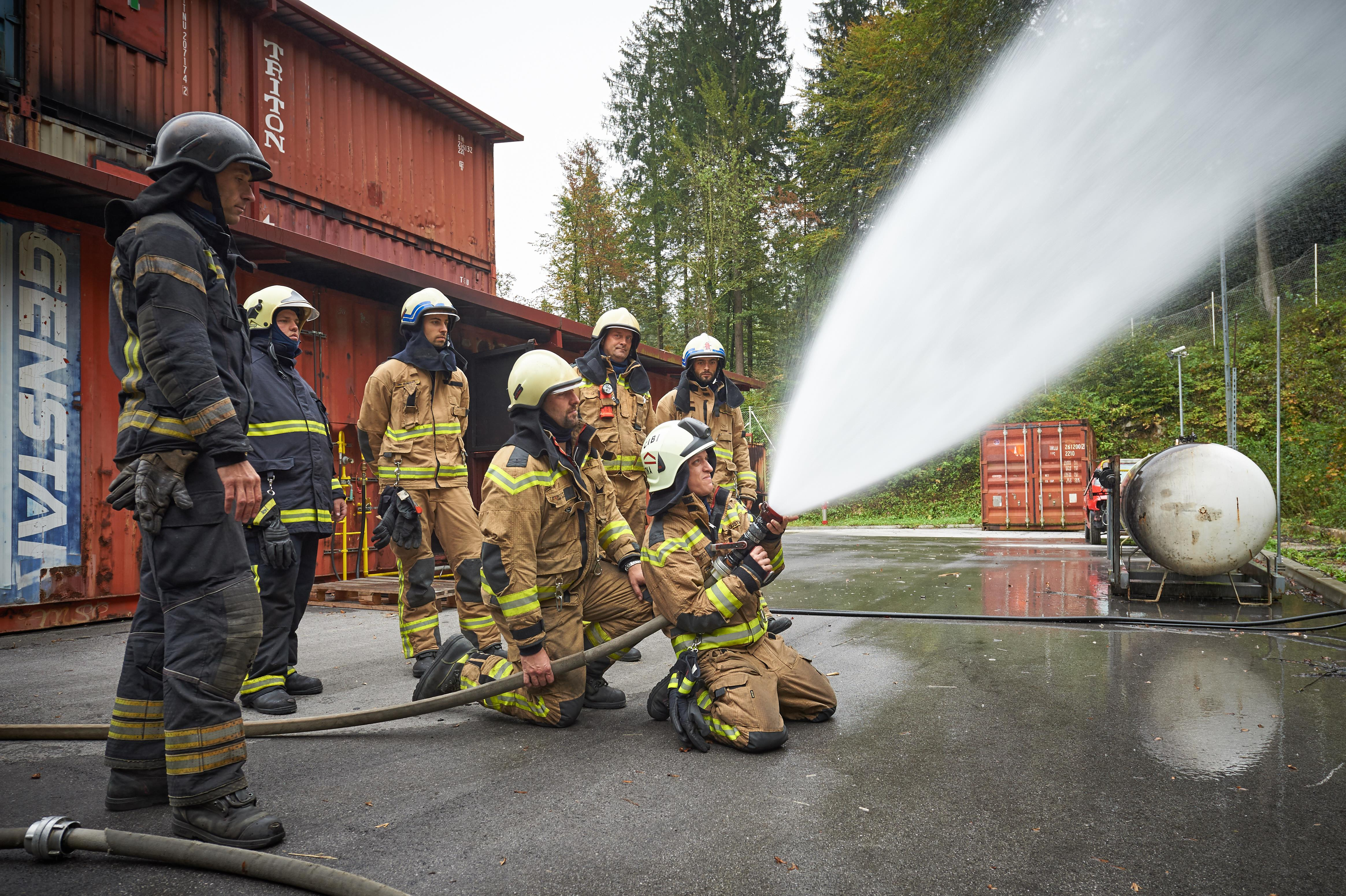 Advanced Structural Firefighting